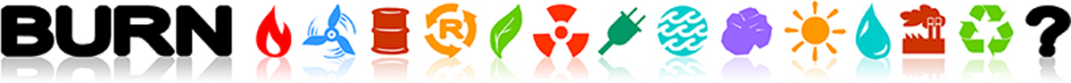 LOGO: BURN energy icons