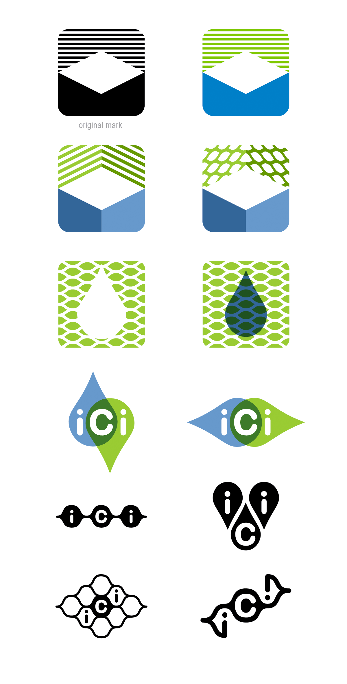 ICI logo development
