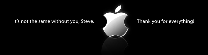 LOGO Apple no Steve